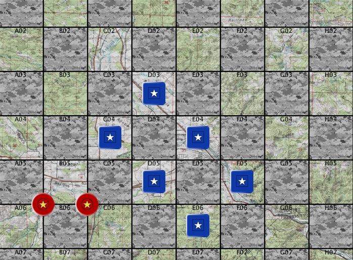 pour les amateurs de règles asymétriques : Guerrilla Checkers 66590!enclosure=