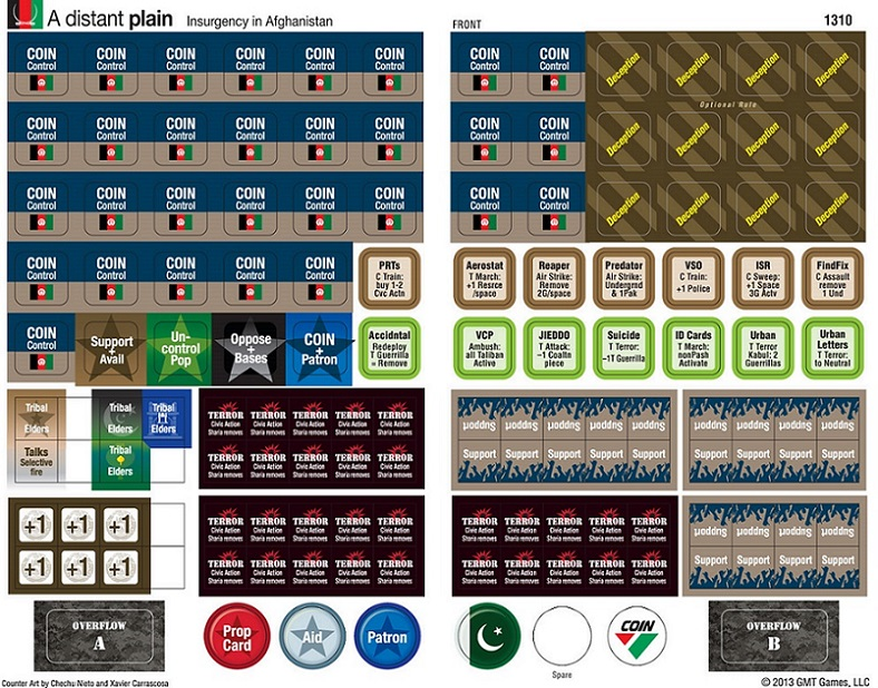 A Distant Plain's (COIN Series - Vol. III, GMT Games)  286!enclosure=