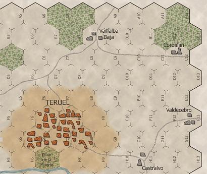 Mapa Teruel HFD Games