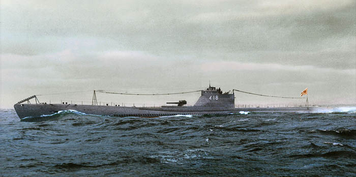 I-18 Japanese submarine